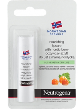 Neutrogena Nordic Berry Lip Stick 4.8gr