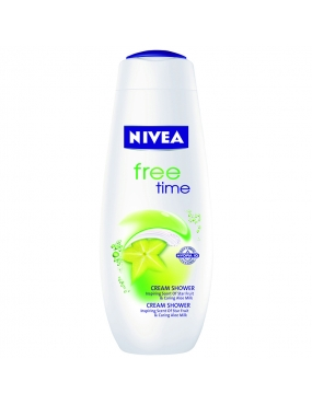 Nivea Gel Dus Free Time 250ml 80853