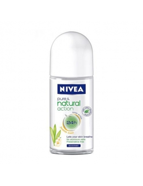 Nivea Pure&Nat. DEO Roll-on 50ml 82226