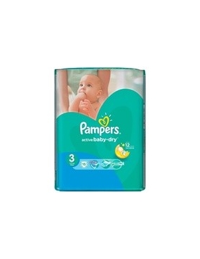 Pampers 3 Active Baby Midi 4-9kg x 90buc-CVB Sales