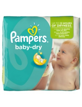 Pampers Baby Dry Maxi Plus 9-20 x 62