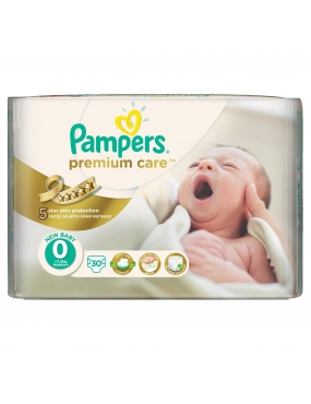 Pampers Premium Care 0 NewBaby x 33buc-CVB Sales