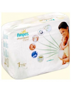 Pampers Premium Care 1 New Born x 22buc-CVB Sales
