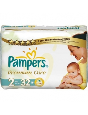 Pampers Premium Care 2 mini x 32buc-CVB Sales
