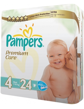 Pampers Premium Care 4 maxi x 24