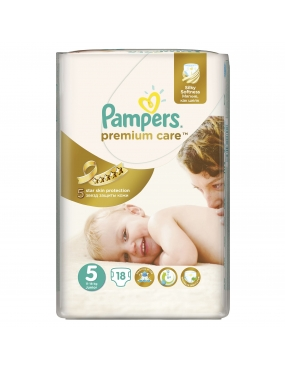 Pampers Premium Care 5 Junior x 18buc-CVB Sales