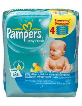 Pampers Servetele Baby Fresh 3+1grat.