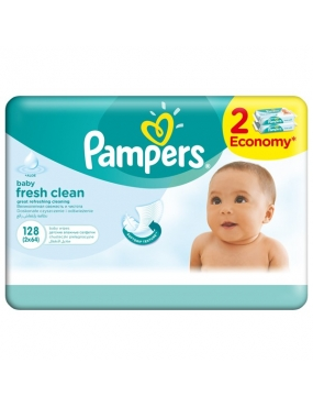 Pampers Servetele Baby Fresh Duo 2 x 64