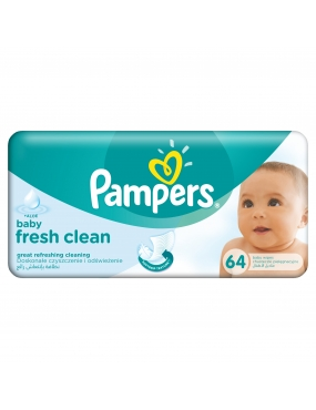 Pampers Servetele Baby Fresh Single 100% Disc.