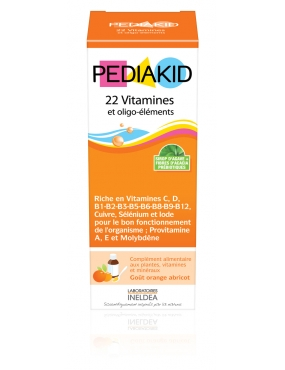 Pediakid 22 Vit. & Oligo-Elements Sirop 125ml