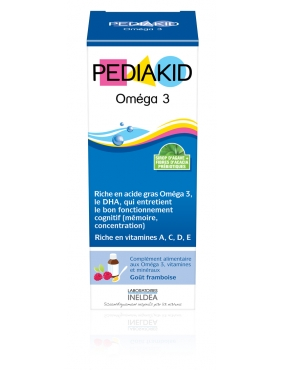 Pediakid Omega 3 Sirop 125ml