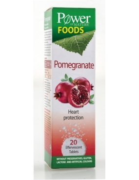 Power of Nature Foods Pomegranate-tbl.eff x 20