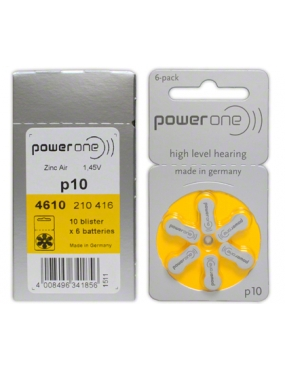 Power One Baterii Zinc Air P10