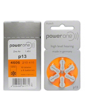 Power One Baterii Zinc Air P13