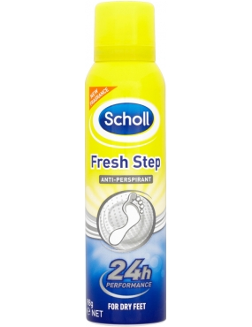 Scholl Spray FreshStep Antiperspirant 150ml
