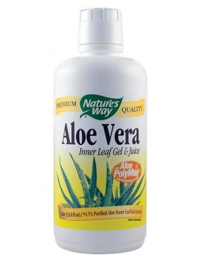 Secom Aloe Vera Gel/Suc 1L Natures Way