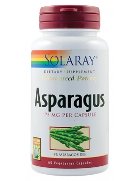 Secom Asparagus-cps x 60-Solaray