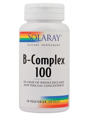 Secom B-Complex 100mg x 50 Solaray