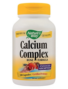 Secom Calcium Complex x 100 Natures Way
