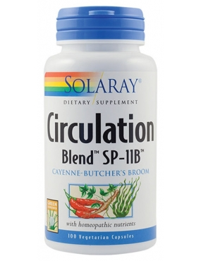 Secom Circulation Blend x 100 - Solaray