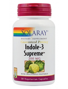 Secom Indole-3 Supreme x 30 - Solaray