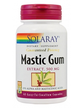 Secom Mastic Gum Extract x 45 Solaray