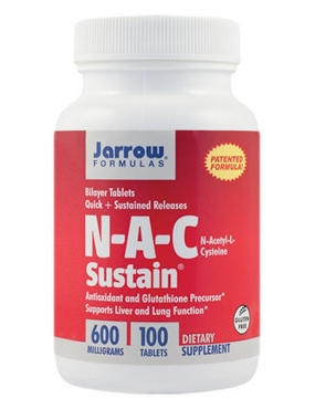 Secom NAC Sustain x 100 - Jarrow Formulas