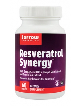 Secom Resveratrol Synergy x 60 Jarrow