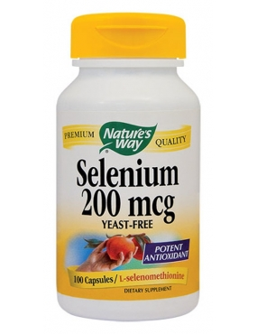 Secom Selenium 200mcg-cps. x 100-Natures Way