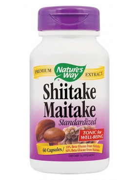 Secom Shiitake Maitake Natures Way