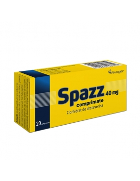 Spazz 40mg-cpr x 20-Labormed