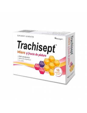 Trachisept miere + fr. padure-cpr. x 16-Labormed