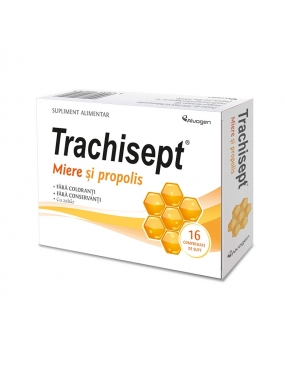 Trachisept miere + propolis-cpr. x 16-Labormed