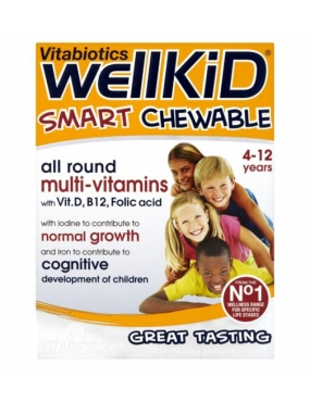 Vitabiotics Wellkid Smart x 30
