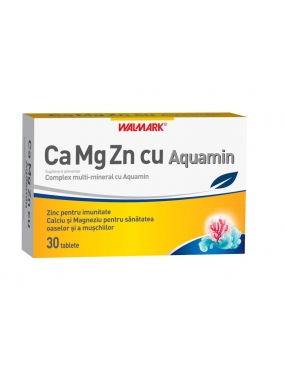 Walmark Ca+Mg+Zn+Aquamin x 30