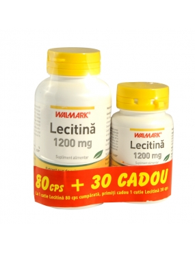 Walmark Lecitina 1200mg x80+Lecitina 1200mg x30